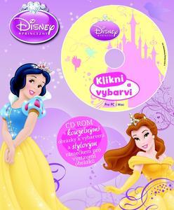 Obrázok Disney Princezny Omalovánka s CD