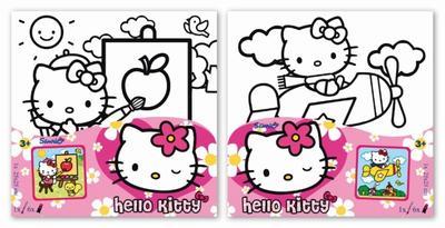 Obrázok Malování na plátno Hello Kitty
