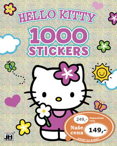 1000 stickers Hello Kitty omalovánka