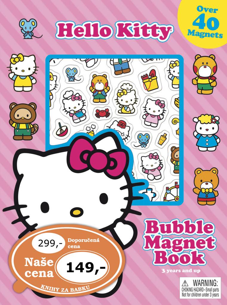 Hraj si s magnety Hello Kitty
