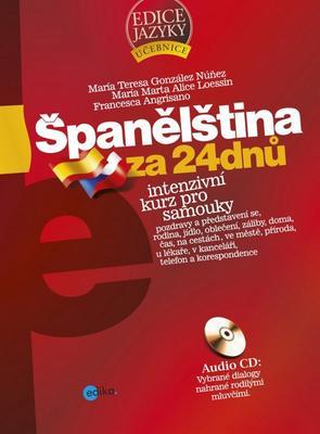 Obrázok Španělština za 24 dnů + CD