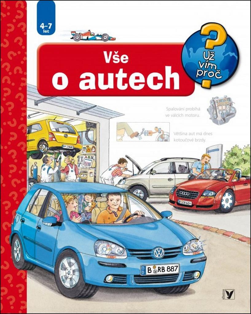 Vše o autech - Andrea Erne, Wolfgang Metzger
