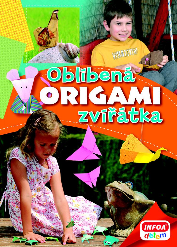 origami oblíbená zvířátka knihcentrum cz