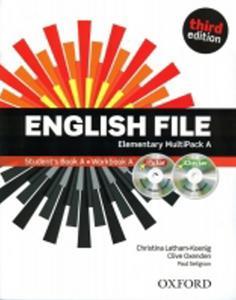 Obrázok English File Elementary Multipack A 3.e.