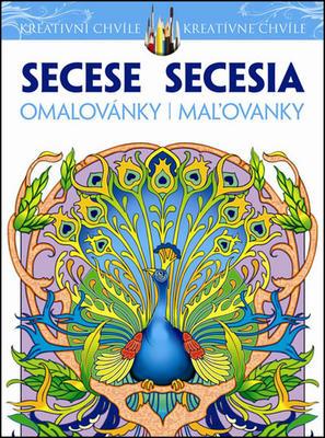 Secese Omalovánky Secesia Maľovanky