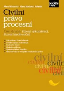 Obrázok Civilní právo procesní Část druhá Řízení vykonávací, řízení insolvenčn