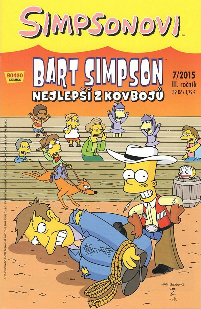 Bart Simpson Nejlepší z kovbojů