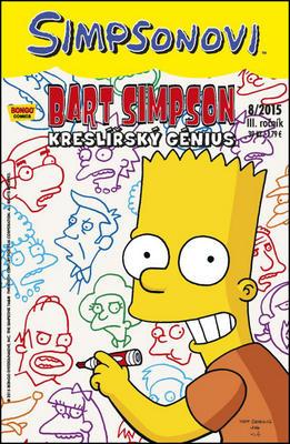 Obrázok Bart Simpson Kreslířský génius
