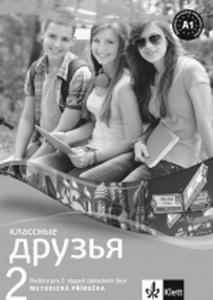 Obrázok Klassnyje druzja 2 Ruština Metod. příruč + CD