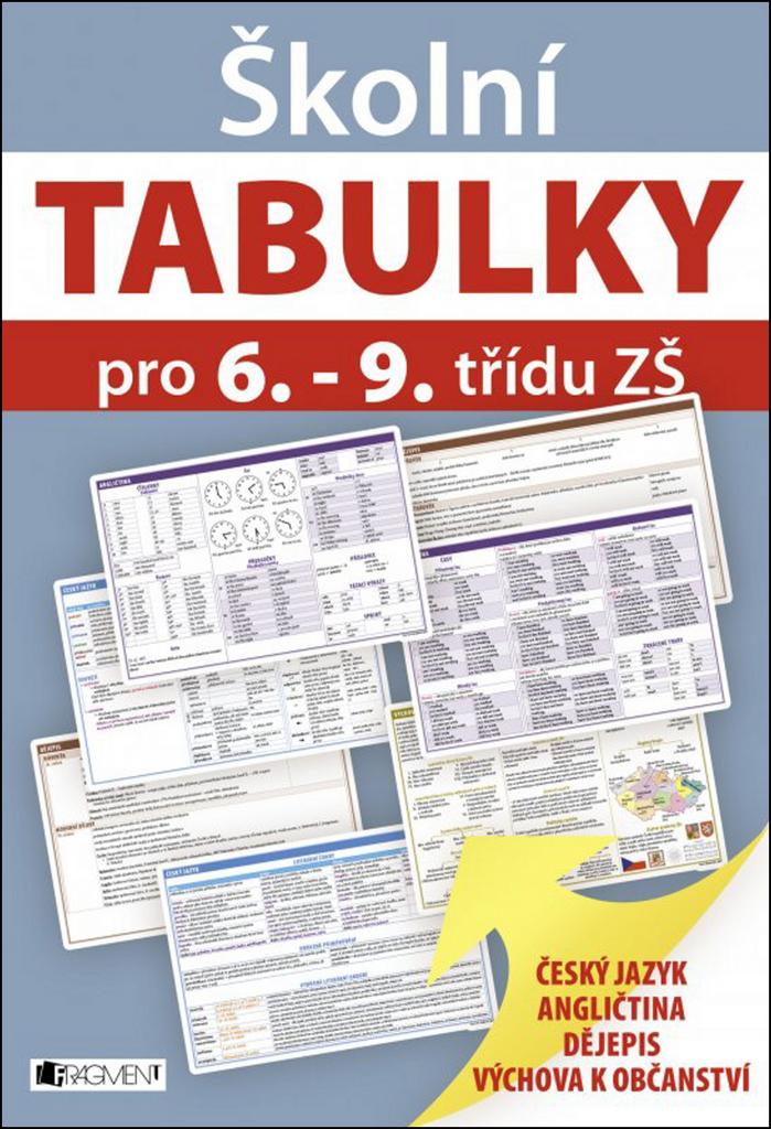 Školní TABULKY pro 6.-9. třídu ZŠ