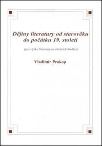 Obrázok Dějiny literatury od starověku do počátku 19. století