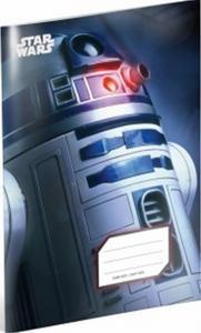 Obrázok Star Wars R2-D2,blok A5, čtverečkovaný