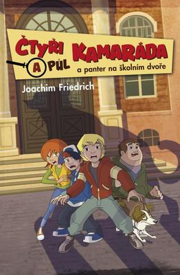 Obrázok Čtyři a půl kamaráda a panter na školním dvoře