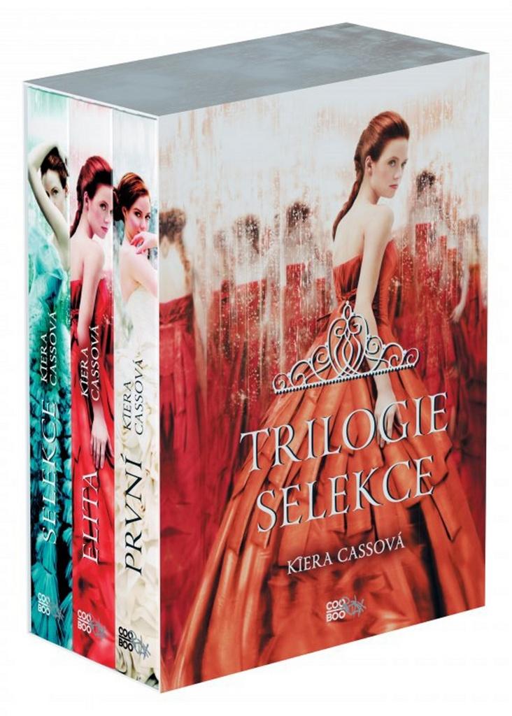 Trilogie Selekce BOX 1-3 - Kiera Cassová