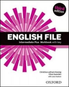 Obrázok English File Third Edition Intermediate Plus Workbook with Answer Key