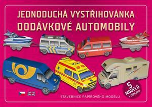 Obrázok Jednoduchá vystřihovánka dodávkové automobily