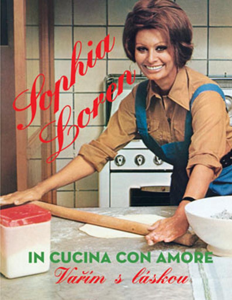 Sophia Loren Vařím s láskou - Sophia Lorenová