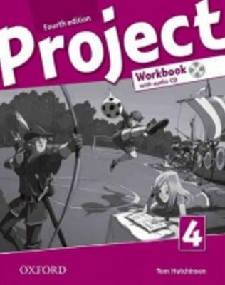 Obrázok Project Fourth Edition 4 Workbook with Audio CD
