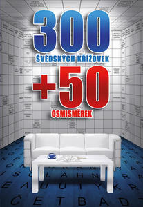Obrázok 300 švédských křížovek + 50 osmisměrek