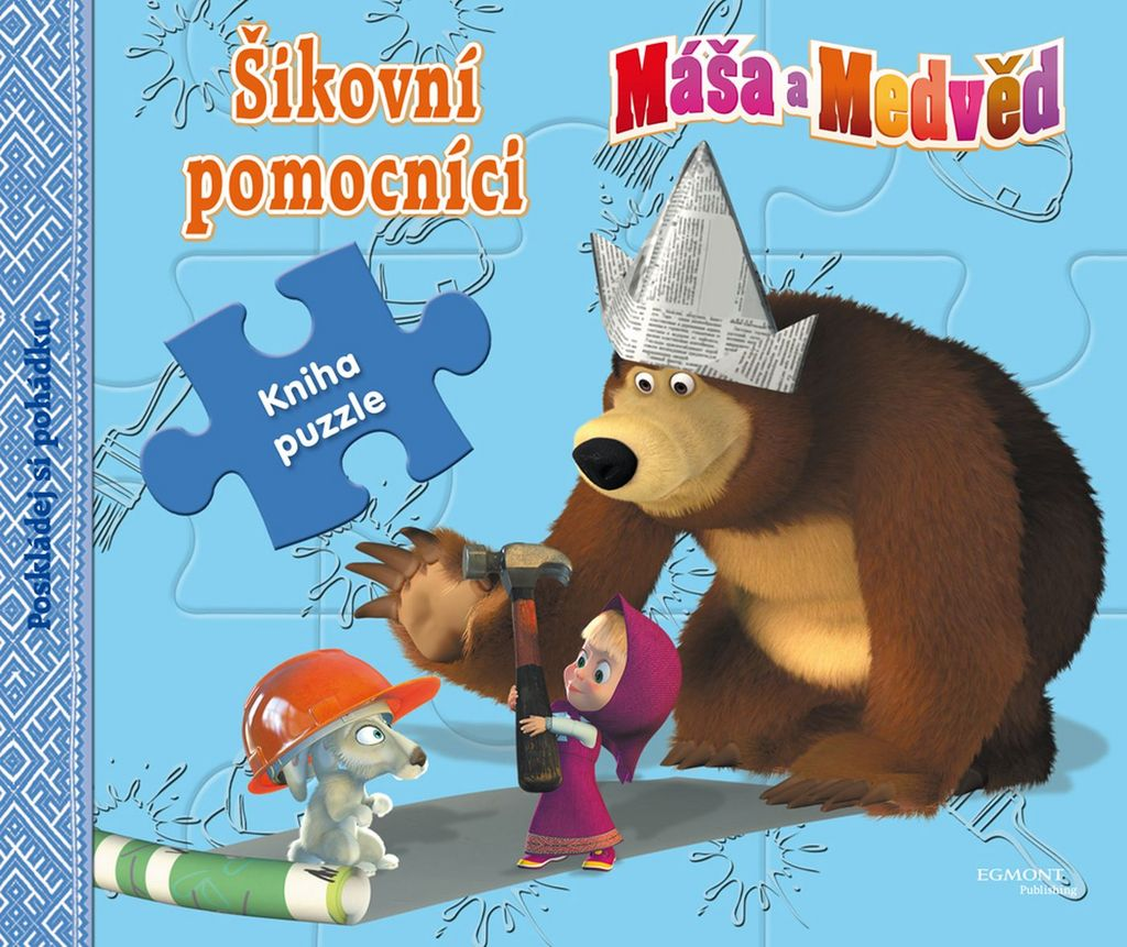 Máša a Medvěd Šikovní pomocníci