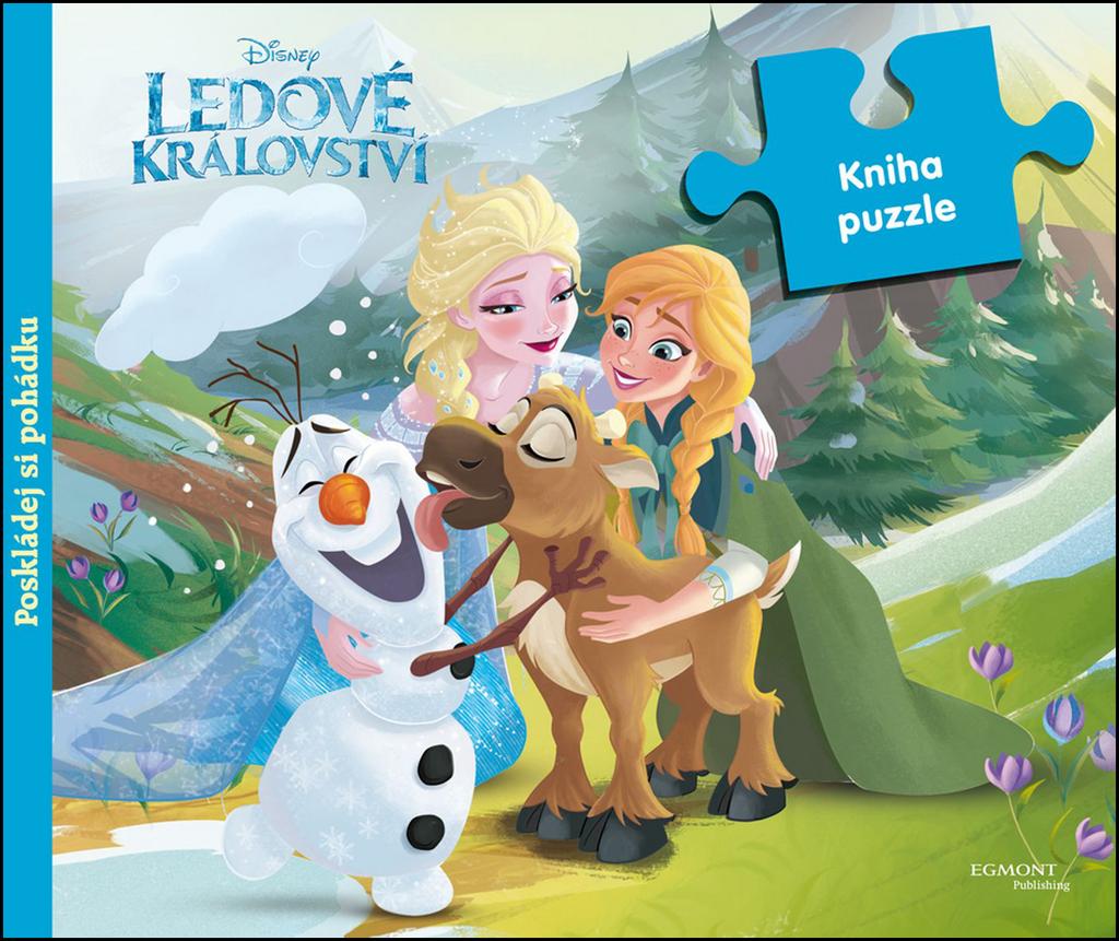 Ledové království Kniha puzzle - Walt Disney
