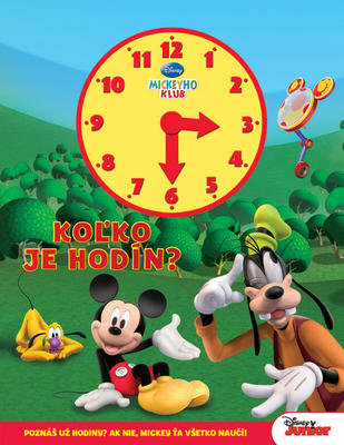 Obrázok Mickeyho klub Koľko je hodín?