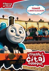 Obrázok Tomáš a jeho kamaráti Vyfarbuj, čítaj, nalepuj