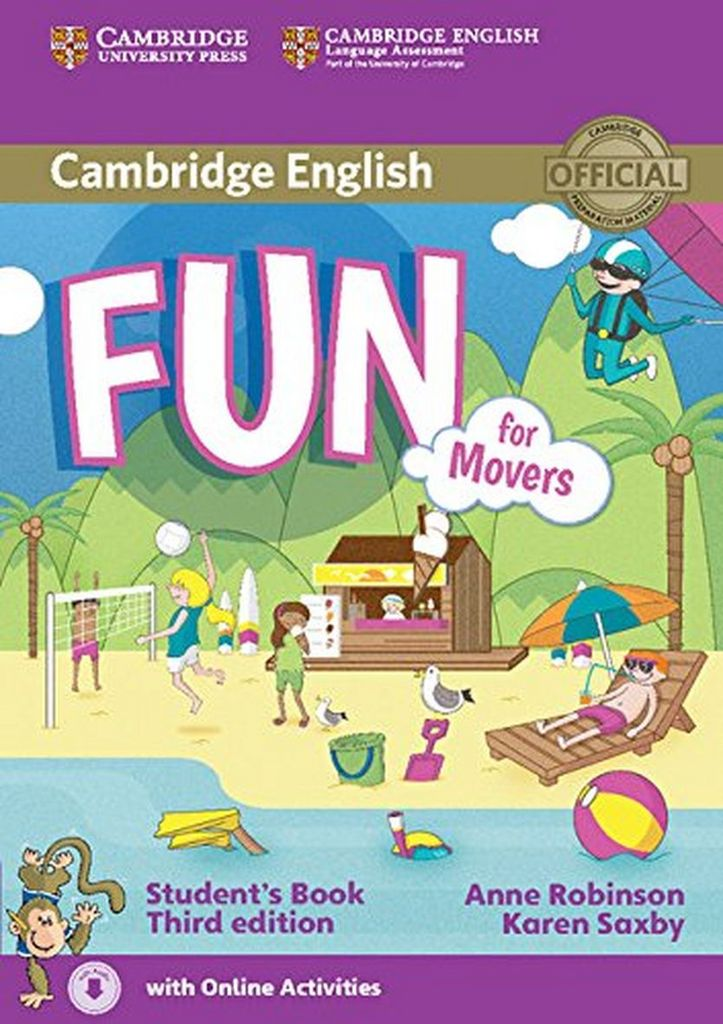Fun for Movers Student´s Book - Karen Saxby, Anne Robinson