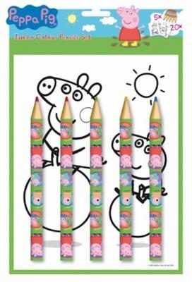 Obrázok Omalovánka s maxi pastelkami Peppa Pig