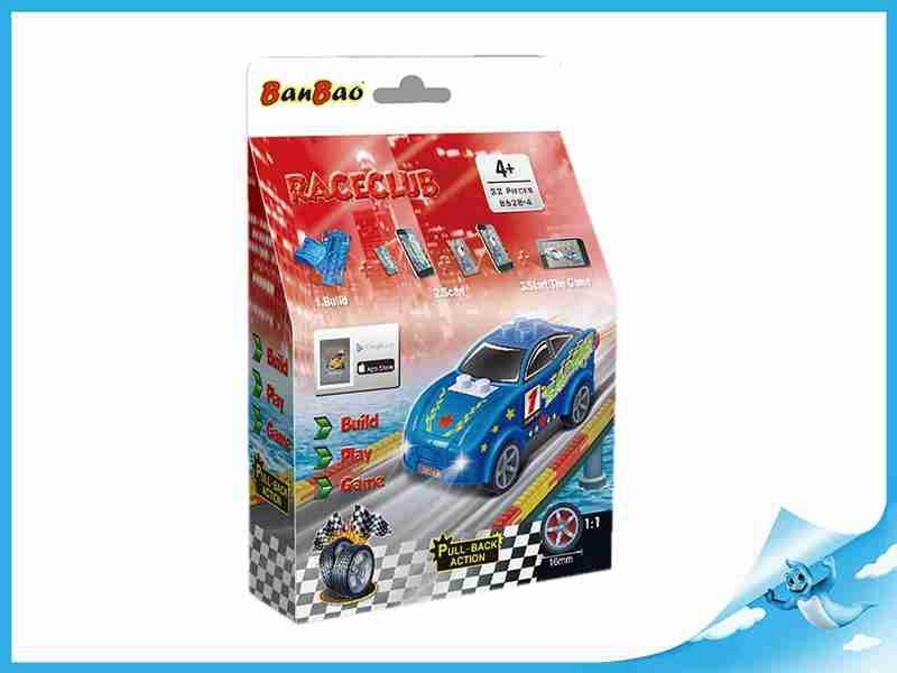 BanBao stavebnice RaceClub Sapphire