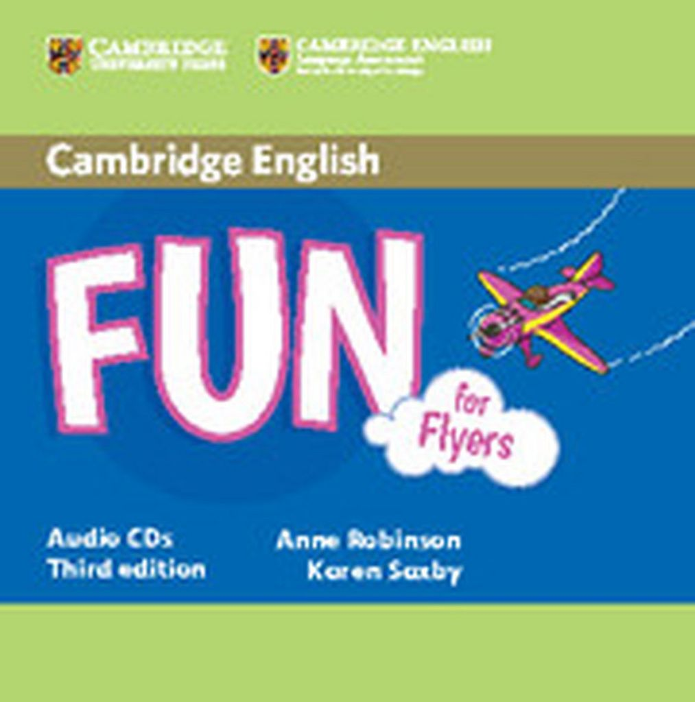 Fun for Flyers - Karen Saxby, Anne Robinson