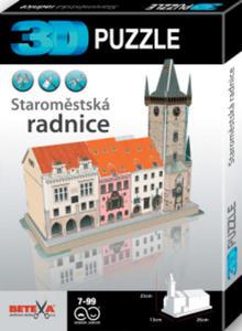 Obrázok 3D puzzle Staroměstská radnice