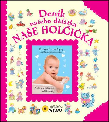 Obrázok Deník našeho děťátka Naše holčička