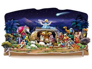 Obrázok Vánoční betlém LUX