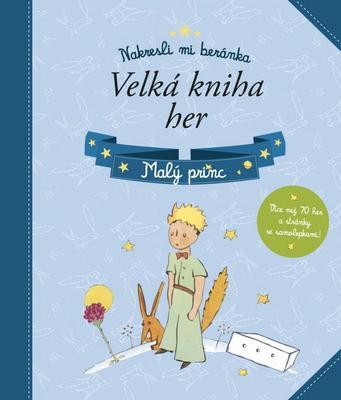 Obrázok Malý princ Velká kniha her