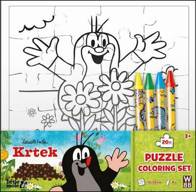 Obrázok Krtek omalovánkové puzzle