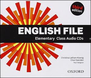 Obrázok English File Elementary Class Audio CDs