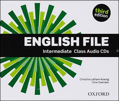 Obrázok English File Intermediate Class Audio CDs