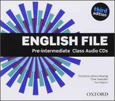 Obrázok English File Pre-intermediate Class Audio CDs