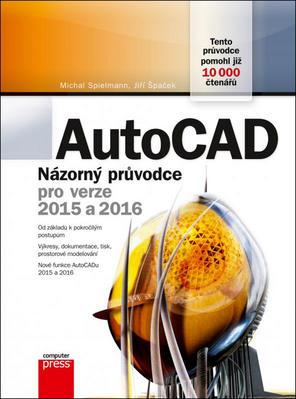 Obrázok AutoCAD Názorný průvodce pro verze 2015 a 2016