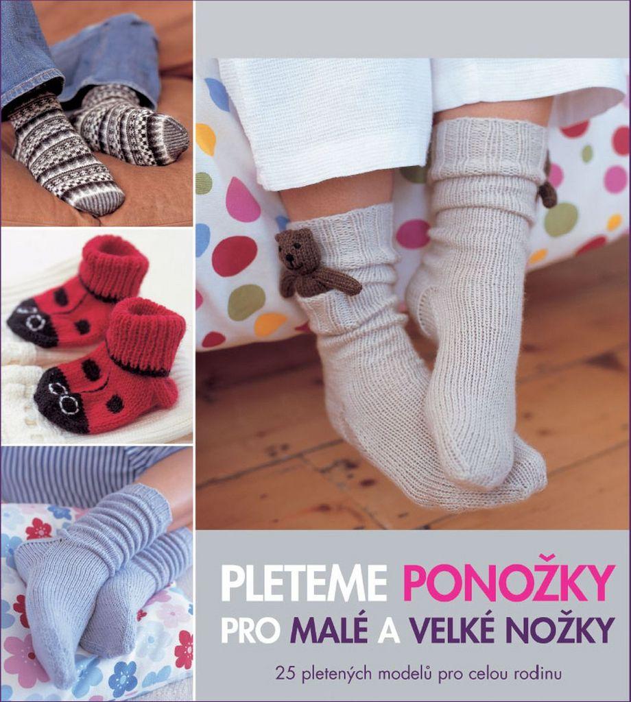 bcf21c8a0bb Pleteme ponožky pro malé a velké nožky - Anna Tillmanová