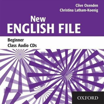 Obrázok New English File Beginner Class Audio CDs