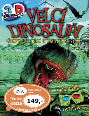 Obrázok Velcí dinosauři - 3D dobrodružství