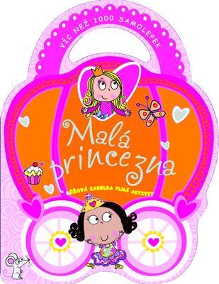Malá princezna růžová kabelka plná aktivit