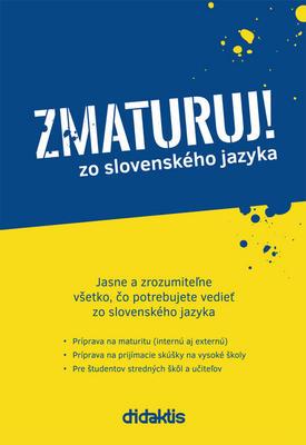 Obrázok Zmaturuj! zo slovenského jazyka