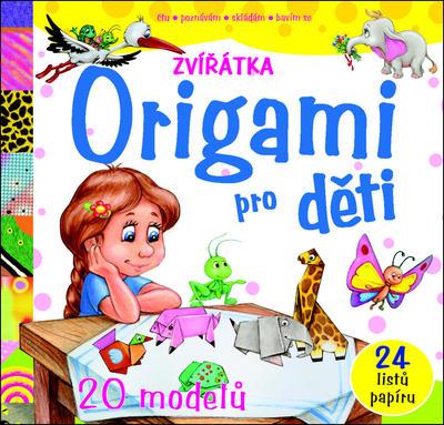 Obrázok Origami pro děti Zvířátka