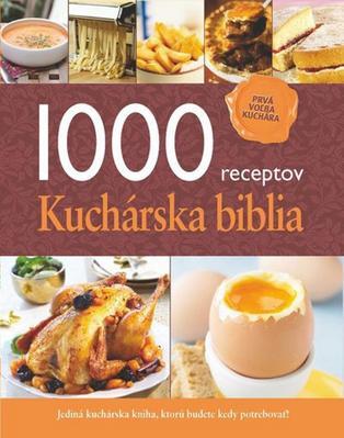 Obrázok 1000 receptov Kuchárska biblia