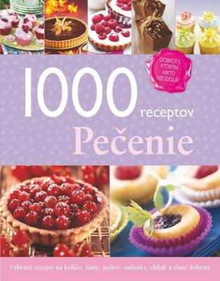 Obrázok 1000 receptov Pečenie