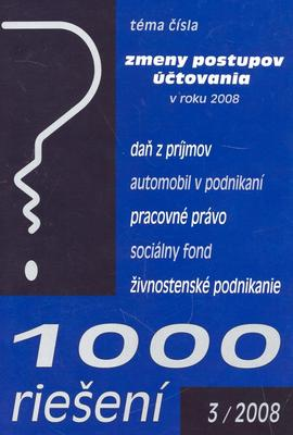 1000 riešení 3/2008