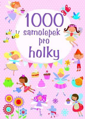 Obrázok 1000 samolepek pro holky